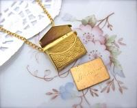 Je t'aime Secret Love Letter Necklace