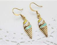 Ice Cream Enamel Earrings