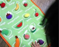 FRUIT FABRIC WALL CHART