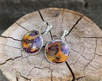 Orange Sunset Earrings
