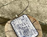 Little City Pendant Necklace