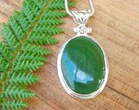 Made In New Zealand Pounamu Pendant