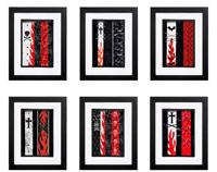 Gothic Punk Collection - 6 x Signed Prints