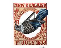 NZ Stamp Collection - Limited edition prints
