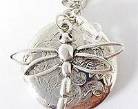 Funkyglam Locket - Dragonfly Delight