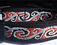 Koru Jacquard Dog Collar.