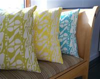 Deco Note  Cushion Cover
