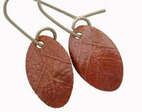 Garland Copper Earrings
