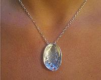 Paua Pendant Necklace