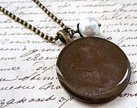 Vintage Penny Necklace