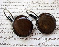 Vintage Penny Earrings