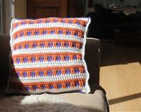 Crochet Cushion (36 X 37cm)